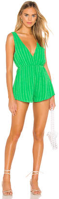 superdown Samantha Deep V Romper