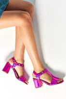 Urban Outfitters Christy Pink T-Strap Heel