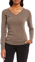 Alex Marie JoJo V-neck Cashmere Sweater