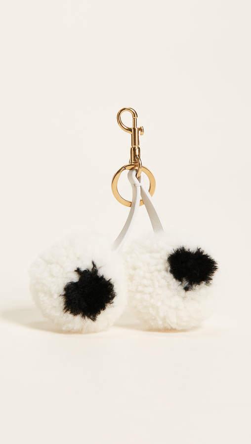 Anya Hindmarch Tassel Eyes Keychain