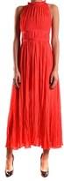 Pinko Women's Red Polyester Dress.