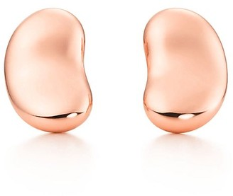 Tiffany & Co. Elsa Peretti Bean Design earrings in 18k rose gold