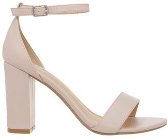 Miss Shop Madison Blush Smooth Sandal