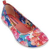 Skechers Floral Print Skimmers with Memory Foam - Sweet Bouquet