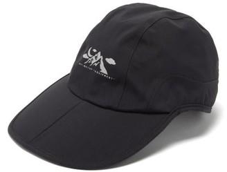 Off-White Off White Mountain Logo-print Technical Cap - Mens - Black
