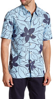 Quiksilver Floral Tailored Fit Shirt