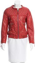 Isabel Marant Leather Embellished Jacket