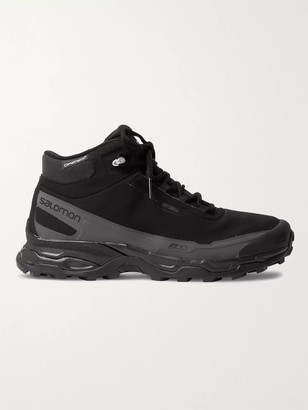 Salomon Shelter Cswp Advanced Ripstop, Faux Suede And Rubber Boots