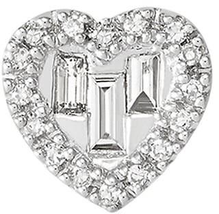 Saks Fifth Avenue 14K White Gold & Diamond Heart Pendant