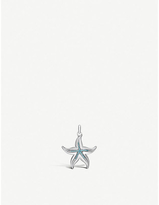Thomas Sabo Starfish sterling silver and turquoise pendant
