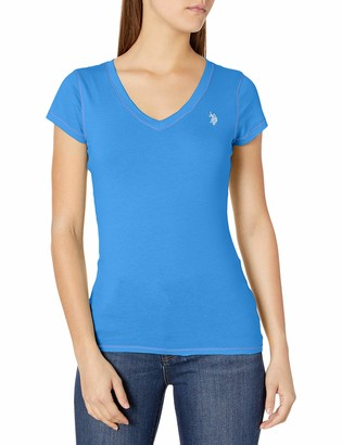 U.S. Polo Assn. Women's Short Sleeve V-Neck T-Shirt