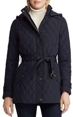 Ralph Lauren Hooded Trench Coat