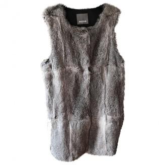 Meteo Grey Rabbit Jackets