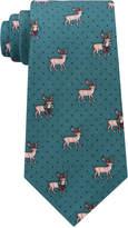 Tommy Hilfiger Men's Reindeer Conversational Silk Tie