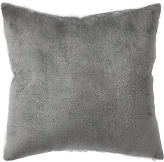 Pottery Barn Teen Ultra Plush Pillow, 16x16, Gray