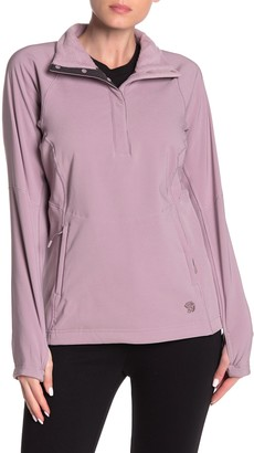 Mountain Hardwear Keele Thumbhole Fleece Lined Pullover