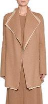 Agnona Platino Light Cashmere Jacket, Camel