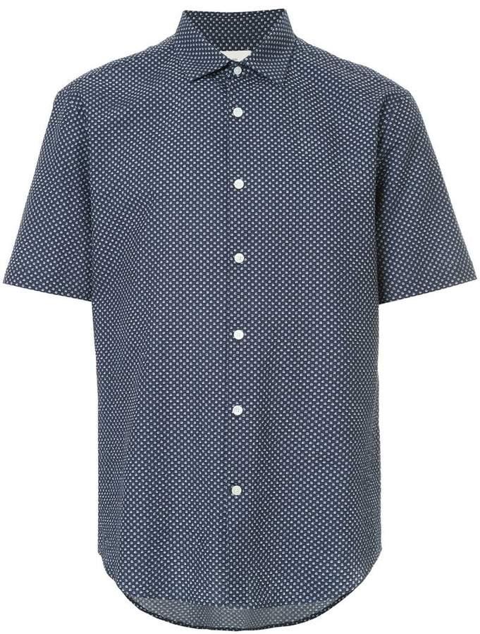 Cerruti floral print shirt
