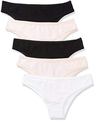 Iris & Lilly Amazon Brand BELK004_M5 Women Underwear,XXX-Large, Pack of 5