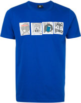 Paul Smith stuffed animal print T-shirt - men - Organic Cotton - XL