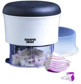 Sharper Image Collapsible Handy Chopper with Soft Grid Lid