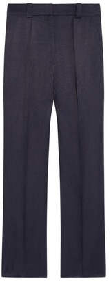 Sandro Flared Cropped Trousers