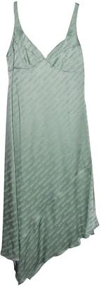 Off-White Green Viscose Dresses