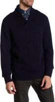 Pendleton Shawl Collar Wool Sweater
