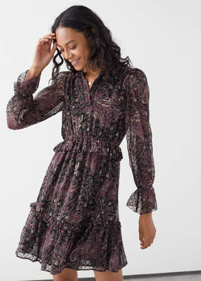 And other stories Layered Ruffle Dress