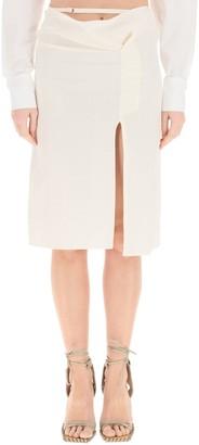 Jacquemus La Jupe Drap Skirt