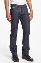 Naked & Famous Denim Men's Super Skinny Guy Skinny Fit Raw Selvedge Jeans