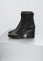Dries Van Noten Black Classic Ankle Boot