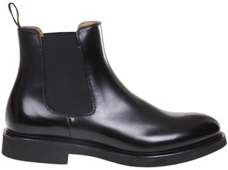 Doucal's Doucals Ankle Boot In Black Leather