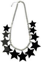 Lucite Star Necklace
