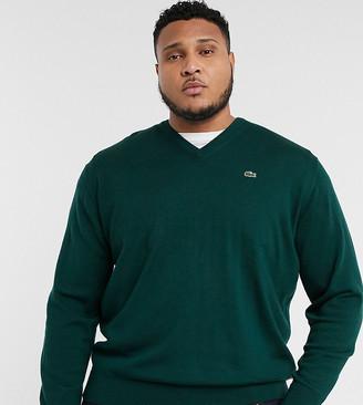 Lacoste PLUS v-neck sweater