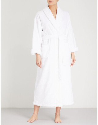 The White Company Cotton-towelling dressing gown