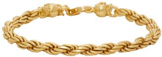 Emanuele Bicocchi SSENSE Exclusive Gold Birdcage Chain Bracelet