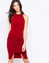 Wal G Dress With Rouched Skirt