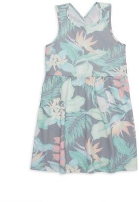 Sol Angeles Little Girl's & Girl's Tropical Print Dress