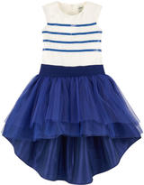 Junior Gaultier Mini Me silk taffeta dress