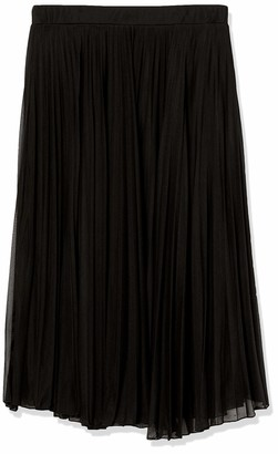 Forever 21 Women's Plus Size Accordion Pleated Midi Skirt