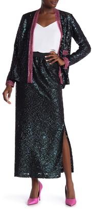 Anna Sui Jacquard Maxi Skirt
