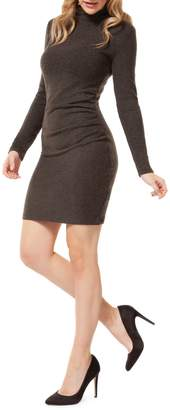 Dex Mockneck Mini Dress