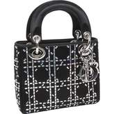 Christian Dior Lady silk handbag