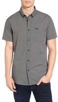 RVCA 'That'll Do' Trim Fit Microdot Woven Shirt