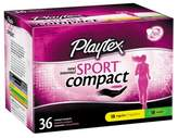 Playtex Sport Compact Multi Pack Tampon - 36ct