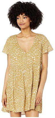 Show Me Your Mumu Cia Mini Dress (Desert Cheetah) Women's Dress