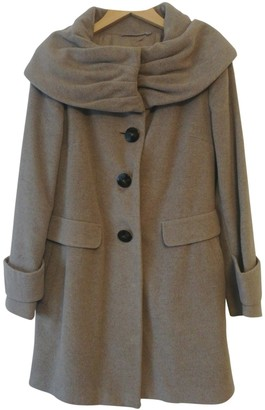 Betty Jackson Grey Wool Coat for Women