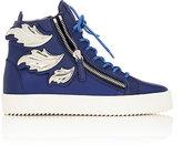 "Giuseppe Zanotti Men's ""Cruel"" Double-Zip Leather Sneakers"