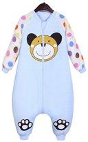 Aivtalk Baby Girls Lovely Sleep Sack Breathable Removable Sleeve Wearable Blanket Bunting Bag for 3-12 Months